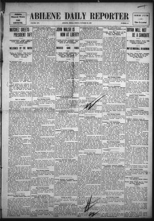 Primary view of object titled 'Abilene Daily Reporter (Abilene, Tex.), Vol. 14, No. 51, Ed. 1 Friday, October 29, 1909'.