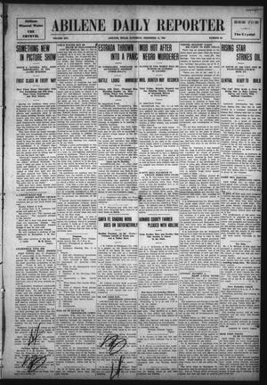 Primary view of object titled 'Abilene Daily Reporter (Abilene, Tex.), Vol. 14, No. 93, Ed. 1 Saturday, December 11, 1909'.
