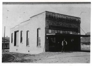 Primary view of object titled 'Interurban Depot, Richardson, Texas'.