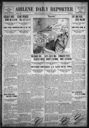 Primary view of object titled 'Abilene Daily Reporter (Abilene, Tex.), Vol. 14, No. 126, Ed. 1 Sunday, January 16, 1910'.