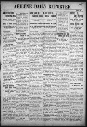 Primary view of object titled 'Abilene Daily Reporter (Abilene, Tex.), Vol. 14, No. 134, Ed. 1 Monday, January 24, 1910'.