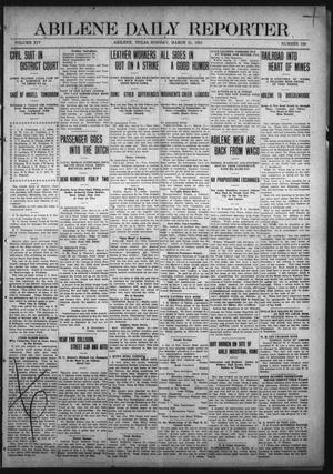 Primary view of object titled 'Abilene Daily Reporter (Abilene, Tex.), Vol. 14, No. 190, Ed. 1 Monday, March 21, 1910'.