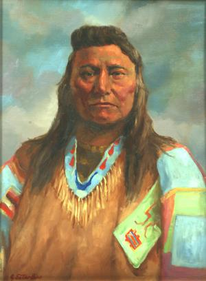 "Primary view of object titled '""Chief Joseph, Nez Perce""'."
