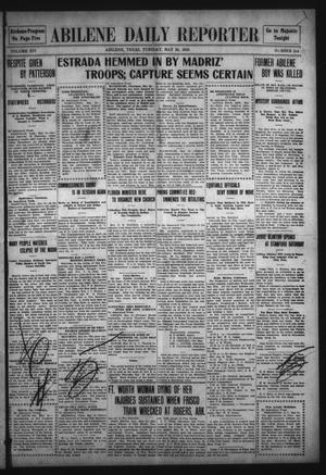 Primary view of object titled 'Abilene Daily Reporter (Abilene, Tex.), Vol. 14, No. 244, Ed. 1 Tuesday, May 24, 1910'.