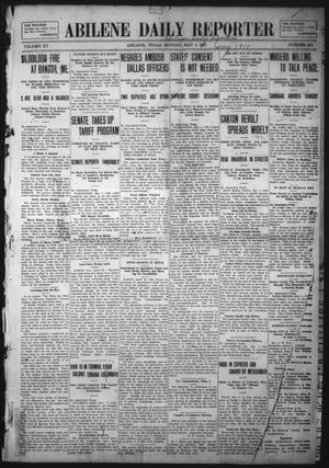 Primary view of object titled 'Abilene Daily Reporter (Abilene, Tex.), Vol. 15, No. 203, Ed. 1 Monday, May 1, 1911'.