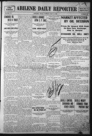 Primary view of object titled 'Abilene Daily Reporter (Abilene, Tex.), Vol. 15, No. 216, Ed. 1 Tuesday, May 16, 1911'.