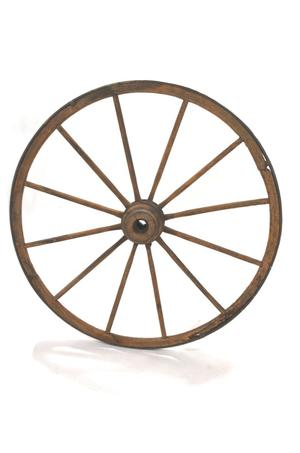 Primary view of object titled 'Wagon wheel'.