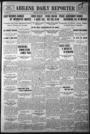 Primary view of object titled 'Abilene Daily Reporter (Abilene, Tex.), Vol. 15, No. 221, Ed. 1 Monday, May 22, 1911'.