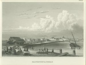"Primary view of object titled '[Photograph of ""Galveston in Texas""]'."