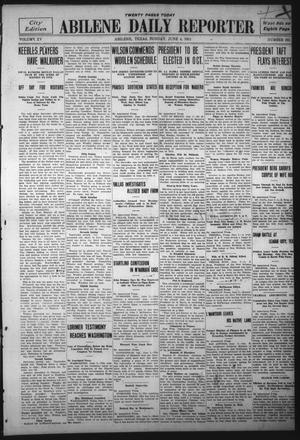 Primary view of object titled 'Abilene Daily Reporter (Abilene, Tex.), Vol. 15, No. 232, Ed. 1 Sunday, June 4, 1911'.