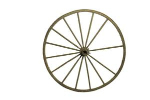 Primary view of object titled 'Wheel to riding plow'.