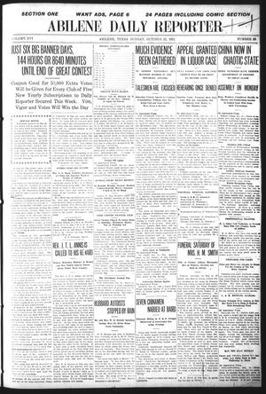 Primary view of object titled 'Abilene Daily Reporter (Abilene, Tex.), Vol. 16, No. 38, Ed. 1 Sunday, October 22, 1911'.