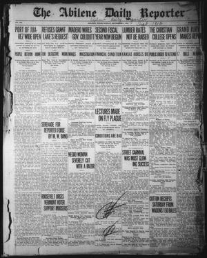 Primary view of object titled 'The Abilene Daily Reporter (Abilene, Tex.), Vol. 16, No. 213, Ed. 1 Sunday, September 1, 1912'.