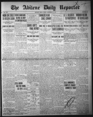 Primary view of object titled 'The Abilene Daily Reporter (Abilene, Tex.), Vol. 16, No. 223, Ed. 1 Friday, September 13, 1912'.