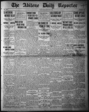 Primary view of object titled 'The Abilene Daily Reporter (Abilene, Tex.), Vol. 16, No. 243, Ed. 1 Monday, October 7, 1912'.