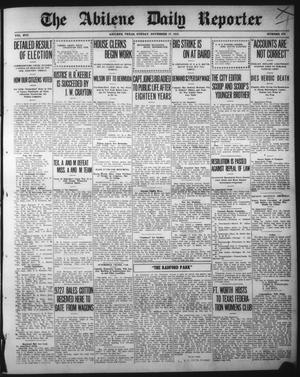 Primary view of object titled 'The Abilene Daily Reporter (Abilene, Tex.), Vol. 16, No. 278, Ed. 1 Sunday, November 17, 1912'.