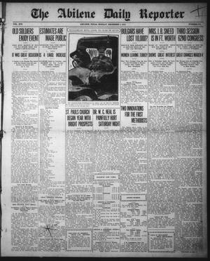 Primary view of object titled 'The Abilene Daily Reporter (Abilene, Tex.), Vol. 16, No. 291, Ed. 1 Monday, December 2, 1912'.