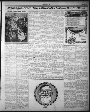 Primary view of object titled 'The Abilene Daily Reporter (Abilene, Tex.), Vol. 16, No. 306, Ed. 1 Thursday, December 19, 1912'.
