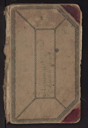 Primary view of object titled 'Union Hill Baptist Church Record Book (1890-1921)'.