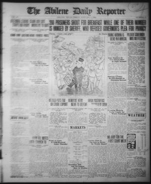 Primary view of object titled 'The Abilene Daily Reporter (Abilene, Tex.), Vol. 33, No. 12, Ed. 1 Friday, January 2, 1920'.
