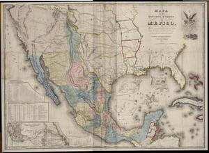 "Primary view of object titled '""Mapa de los Estados Unidos de Mejico""'."