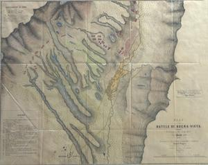 Primary view of object titled 'Plan of the Battle of Buena Vista'.