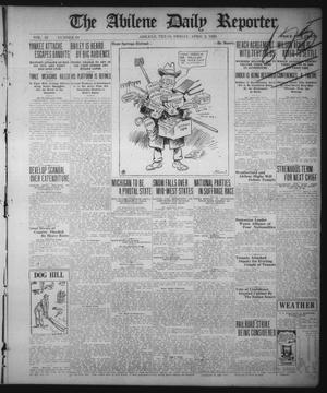 Primary view of object titled 'The Abilene Daily Reporter (Abilene, Tex.), Vol. 33, No. 94, Ed. 1 Friday, April 2, 1920'.