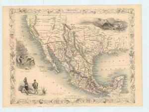 "Primary view of object titled '""Mexico, California and Texas""'."