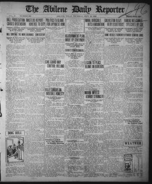 Primary view of object titled 'The Abilene Daily Reporter (Abilene, Tex.), Vol. 33, No. 260, Ed. 1 Thursday, September 30, 1920'.
