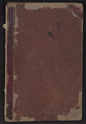 Primary view of object titled 'Mayor's Criminal Docket'.