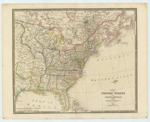 Primary view of object titled 'The United States of North America, with the British Territories.'.