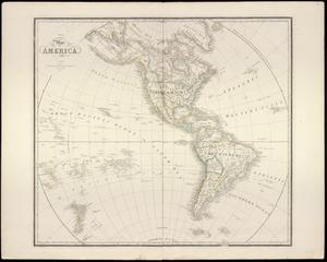 "Primary view of object titled '""Map of America""'."