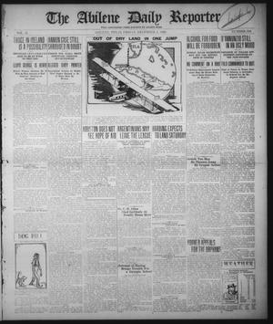 Primary view of object titled 'The Abilene Daily Reporter (Abilene, Tex.), Vol. 33, No. 318, Ed. 1 Friday, December 3, 1920'.