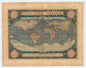 "Primary view of object titled '""Typus Orbis Terrarum""'."