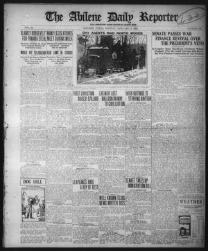 Primary view of object titled 'The Abilene Daily Reporter (Abilene, Tex.), Vol. 34, No. 30, Ed. 1 Monday, January 3, 1921'.