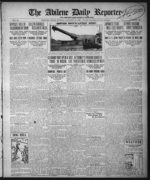 Primary view of object titled 'The Abilene Daily Reporter (Abilene, Tex.), Vol. 34, No. 50, Ed. 1 Sunday, January 23, 1921'.