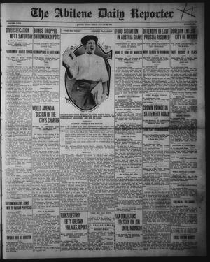 Primary view of object titled 'The Abilene Daily Reporter (Abilene, Tex.), Vol. 18, No. 281, Ed. 1 Friday, January 29, 1915'.