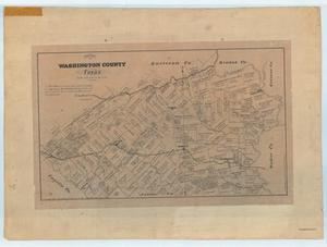 "Primary view of object titled '""Washington County, Texas""'."