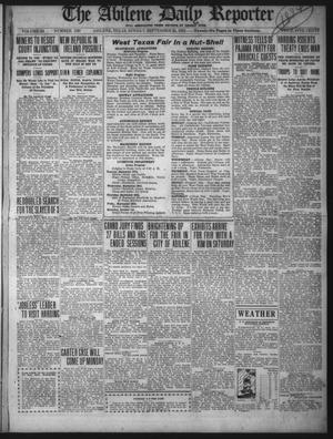 Primary view of object titled 'The Abilene Daily Reporter (Abilene, Tex.), Vol. 34, No. 230, Ed. 1 Sunday, September 25, 1921'.