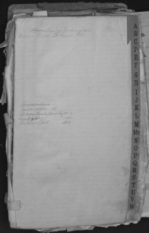 Primary view of object titled 'J.R. Rhyne Hardware Receipts'.