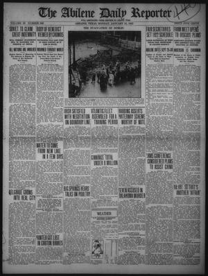 Primary view of object titled 'The Abilene Daily Reporter (Abilene, Tex.), Vol. 34, No. 306, Ed. 1 Monday, January 23, 1922'.