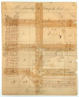 Primary view of object titled 'Map of Benton County, TX'.