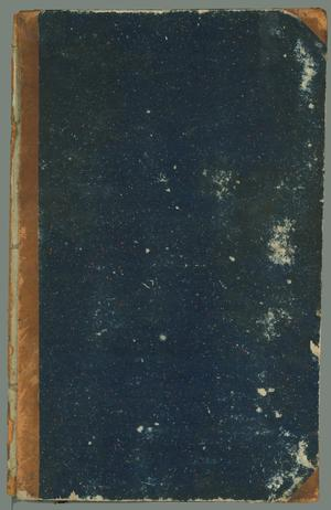 "Primary view of object titled '""R.H. Leetch and Bros., Day Book, Brazos Santiago, Feby 24, 1849'."
