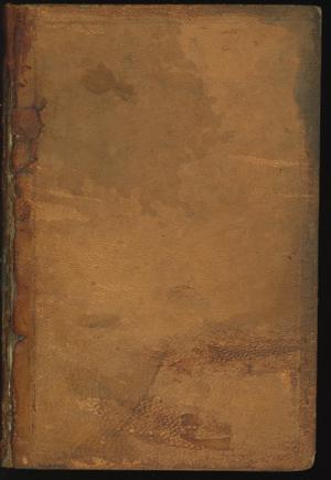 Primary view of object titled 'Laws of the Republic of Texas, Passed at the Session of the Fourth Congress.  In one volume.'.