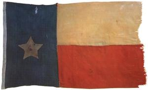 Primary view of object titled 'Flag'.