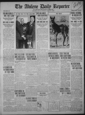 Primary view of object titled 'The Abilene Daily Reporter (Abilene, Tex.), Vol. 34, Ed. 1 Tuesday, March 7, 1922'.