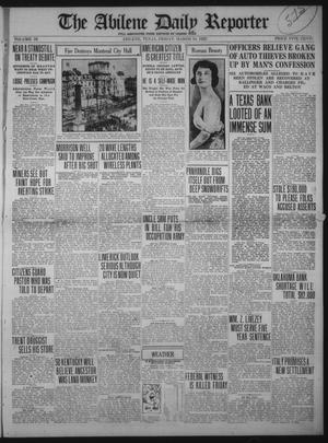 Primary view of object titled 'The Abilene Daily Reporter (Abilene, Tex.), Vol. 34, Ed. 1 Friday, March 10, 1922'.