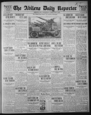 Primary view of object titled 'The Abilene Daily Reporter (Abilene, Tex.), Vol. 21, No. 280, Ed. 1 Wednesday, February 6, 1918'.