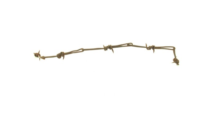 Splicing Barbed Wire Fence | Telegraph Splice Barbed Wire The Portal To Texas History