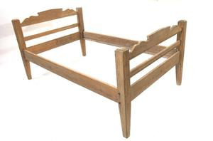 Primary view of object titled 'Pine bed'.